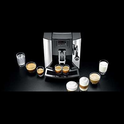 jura e8 automatic coffee machine jackel porter co ltd. Black Bedroom Furniture Sets. Home Design Ideas